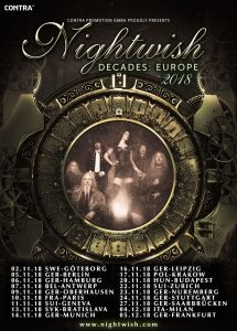 DECADES Tour – Nightwish in België!